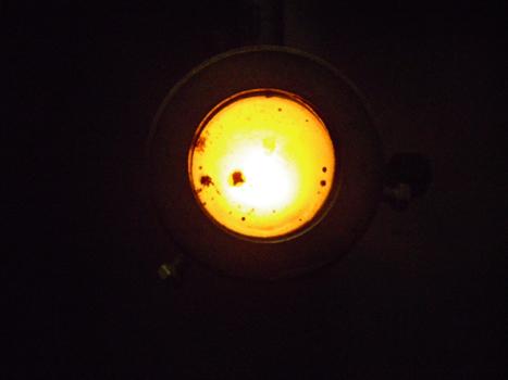 エマルジョンシステムを使用したボイラーの炎